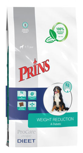 Prins Veterinary Diet Weight Reduction Diabetic Croque