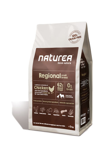 Naturea Small Dog Regional 2kg