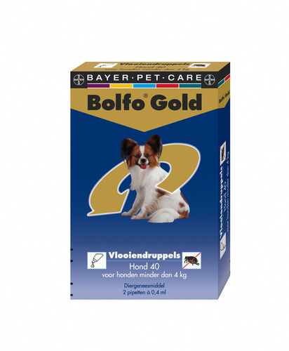 Bolfo Gold 4 pipet