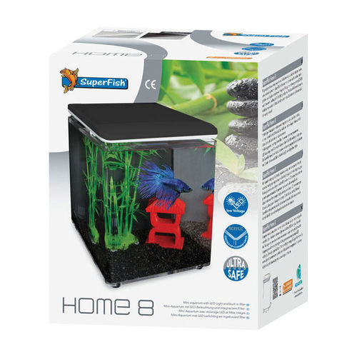 Superfish Home 8 Zwart of Wit
