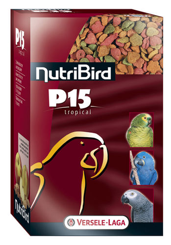 NutriBird P15 Tropical Papegaai