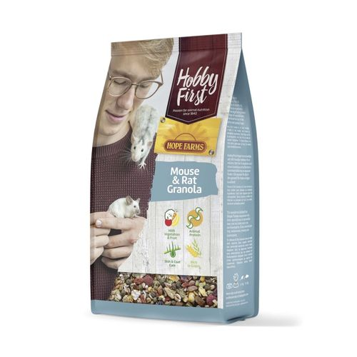 Hobbyfirst Hope Farms Mouse & Rat Granola 800gr