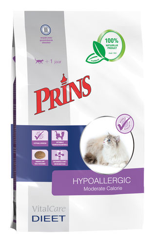 Prins Veterinary Diet Hypoallergic Moderate Callorie