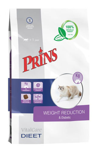 Prins Veterinary Diet Weight Reduction & Diabetic
