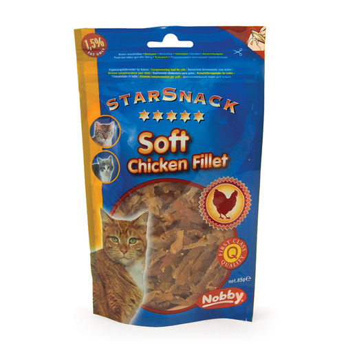 Nobby Soft Chicken Filet 85gr