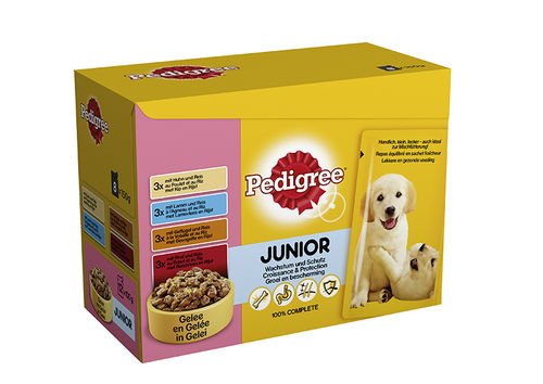 Pedigree Multipack Pouch Junior 12 x 100gr