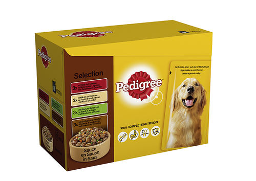 Pedigree Multipack Pouch Selection 12 x 100gr