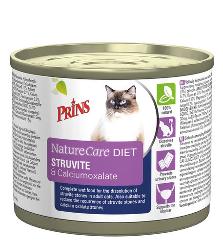 Prins Veterinary Diet Struvite & Calciumoxalate 200gr