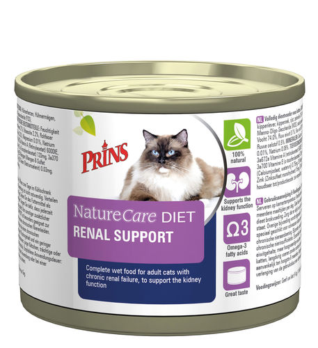 Prins Veterinary Diet Renal Support 200gr
