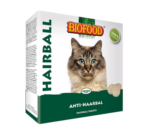 Biofood Anti Haarbal TablettenKattengras 60gr