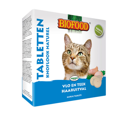 Biofood Anti Vlo & Teek Tabletten Naturel 60gr