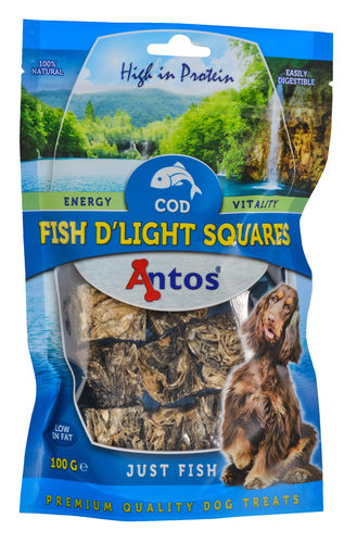 Antos Fish D'light Squares 100gr