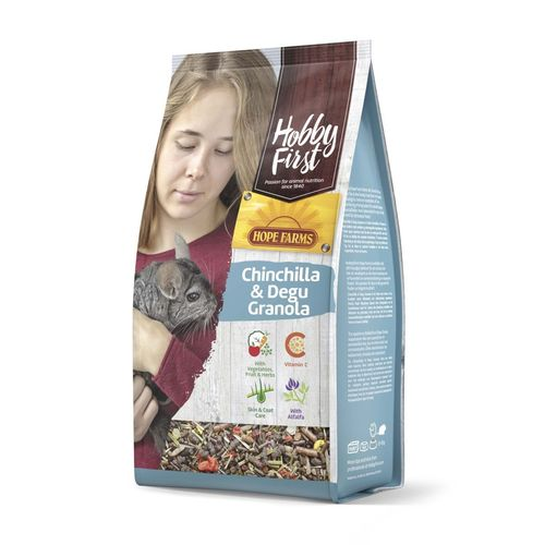 Hobbyfirst Hope Farms Chinchilla & Degu Granola 2kg